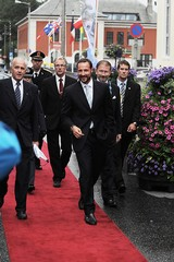 HRH Crown Prince Haakon during The 37th Norwegian Interntaional Film Festival